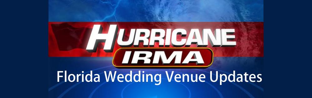 Wedding venue status updates after Hurricane Irma