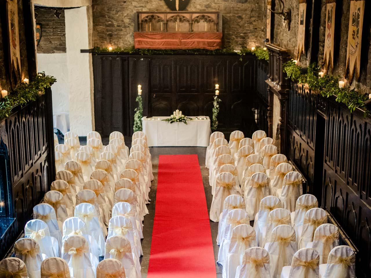 Wedding in Kinitty Castle